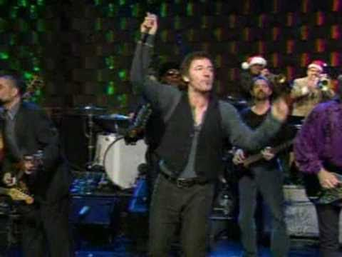 Christmas Music: Bruce Springsteen & E.-Street Band      ** Merry Christmas Baby ** Live Rock n' Roll version