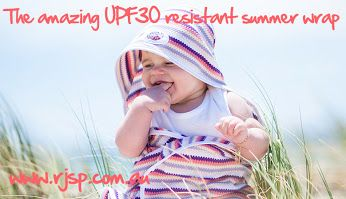 Run Jump Splash Play - Google+  Don't forget that even as we move towards the end of summer UV levels can still be very high. Protect your little ones on those hot days and also keep them warm on those cooler evenings with one of our amazing UPF30 resistant summer wraps. #snugasabug #summerwrap #babywrap