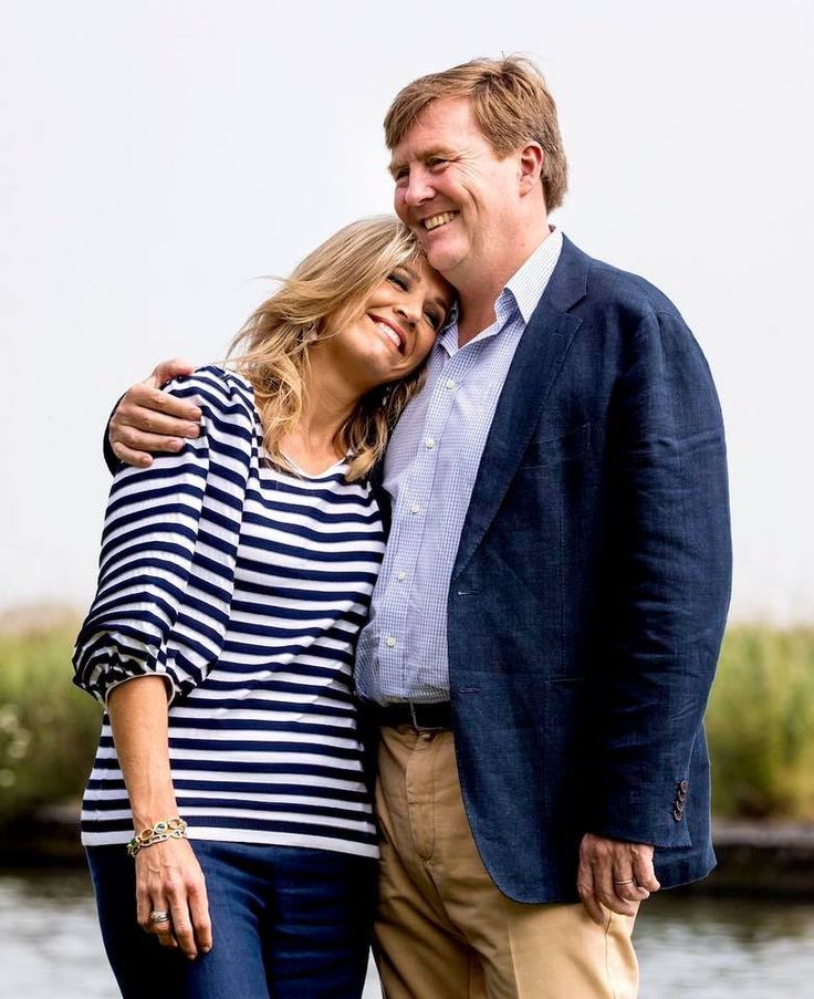 King Willem-Alexander and Queen Maxima of the Netherlands. July 7 2017