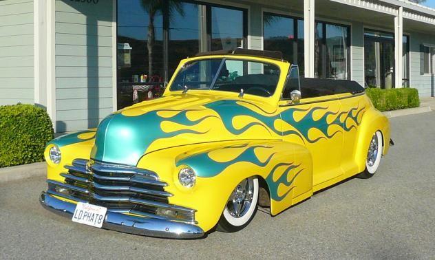 1948 Chevrolet Fleetmaster Convertible Yellow