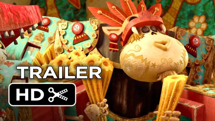 Another Gorgeous New Trailer for Guillermo del Toro's Animated Film 'The Book Of Life'.