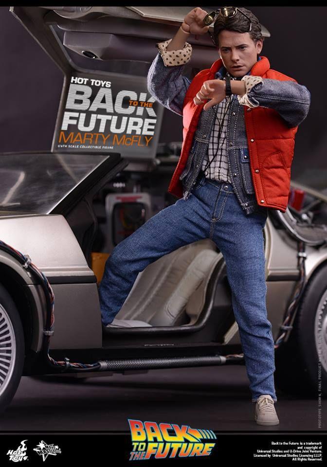 Retour vers le Futur: Marty McFly arrive chez Hot Toys
