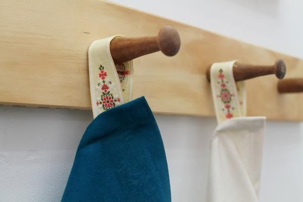 Tea towel – Cauliflower  Its the little details.