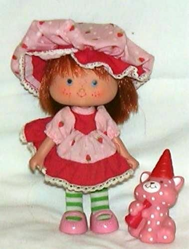 Strawberry Shortcake 70s 80s 90s toys and games
