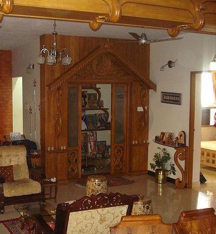 Pooja Room Designs In Wood