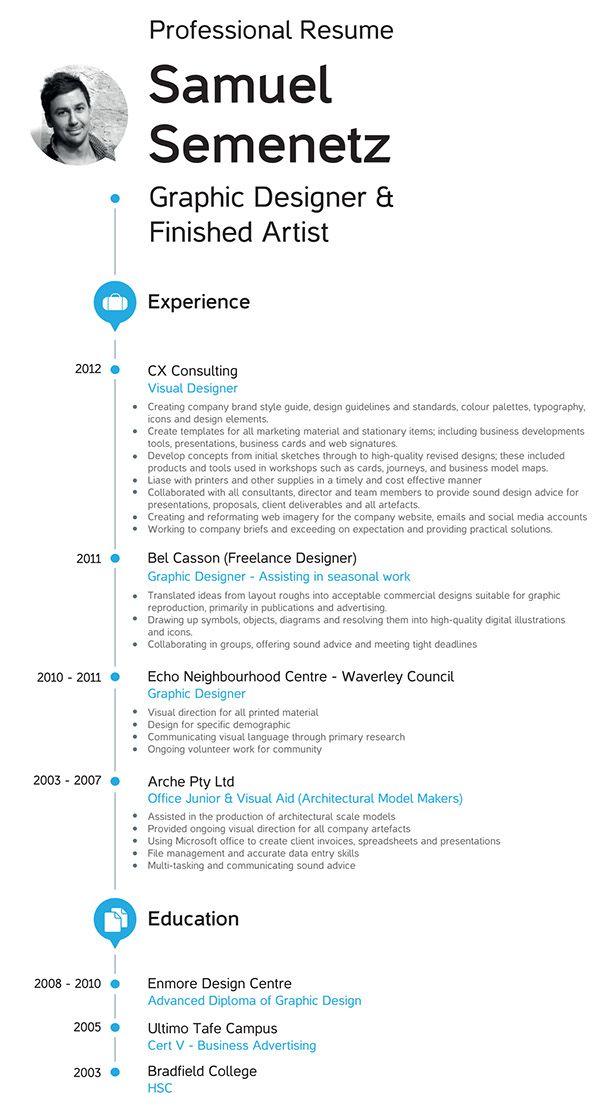Resume Cv On Behance Design Advice Resume Resume Cv