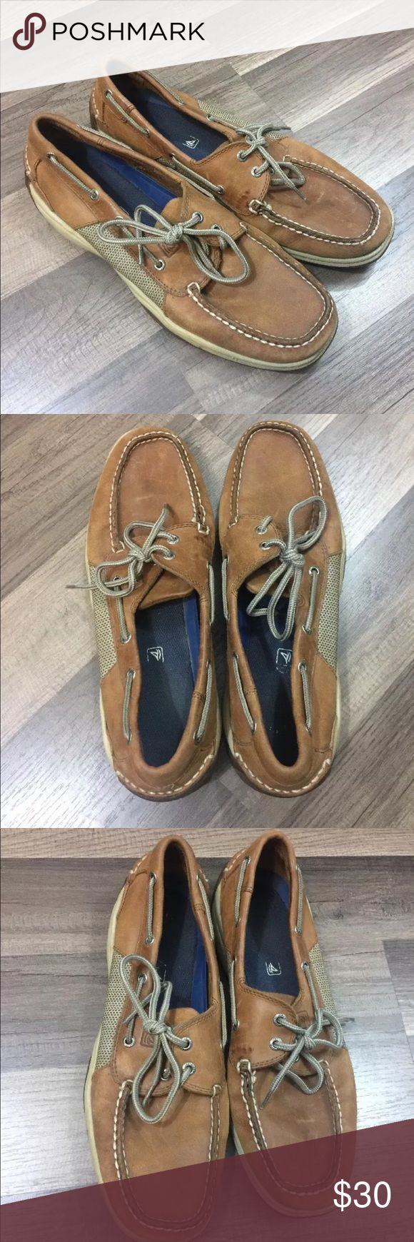 Sperry Topsider Intrepid 2 Eye Boat Shoes Sperry Topsider  Intrepid 2 Eye Boat Shoes  Mens Size 11M  Great condition! No flaws. Sperry Top-Sider Shoes