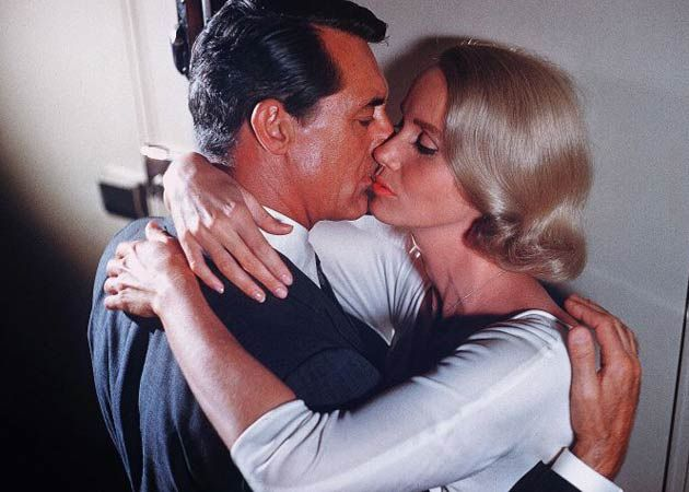 Saint Mary (film) movie scenes Best Movie Kisses with Cary Grant and Eva St Clare in Alfred Hitchcock North By
