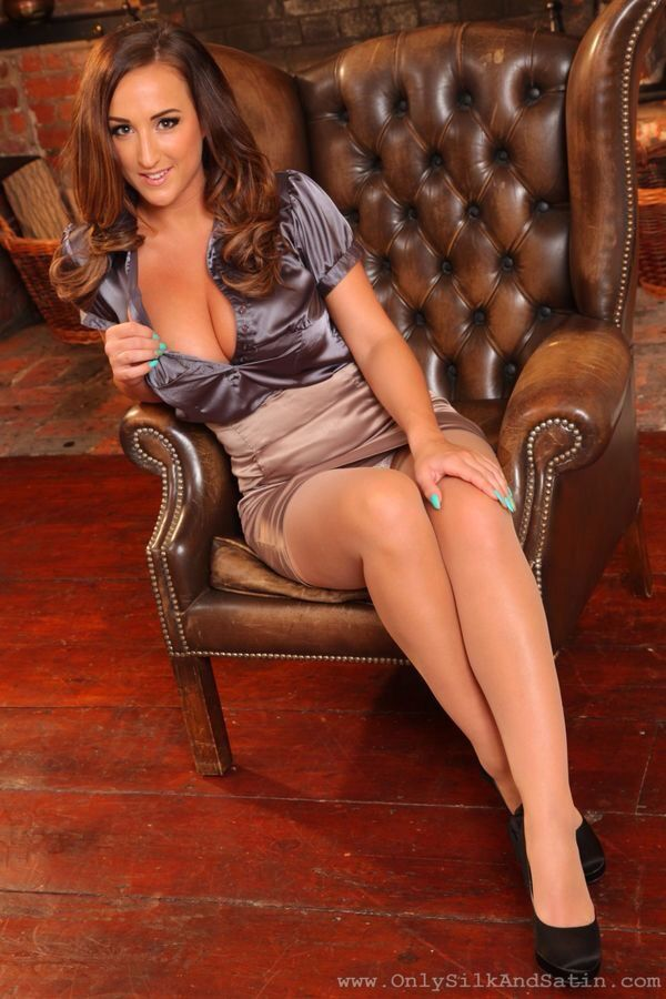 Attractive In Pantyhose Stacey 80