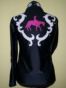 Horse Show Clothes for Shows | CUSTOM WESTERN HORSE SHOW SHIRT JACKET CLOTHES Showmanship,Pleasure ...