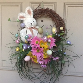 566 best Easter/Spring Wreaths images on Pinterest | Spring wreaths ...