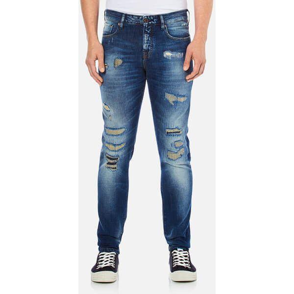 Mens Skim-Bush Tucker Straight Jeans Scotch & Soda 8kEo7M2ib