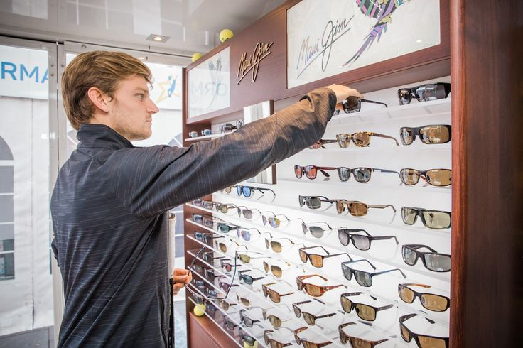 MAUI, HAWAII– Maui Jim, Inc.®, the company whose premium polarized sunglasses let you see the world in clear, spectacular colours, introduces tennis star David Goffin, as its newest brand ambassador. David joins a talented group of professional athletes to represent Maui Jim, including Belinda
