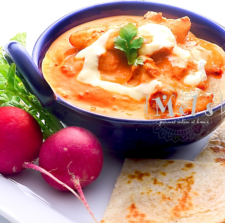 This is the world famous Butter Chicken Masala, reacreated by Mel - it will surely transport you to the 'dhabas' of Delhi...  www.mels.co.nz
