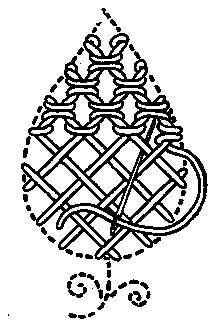 twisted lattice stitch