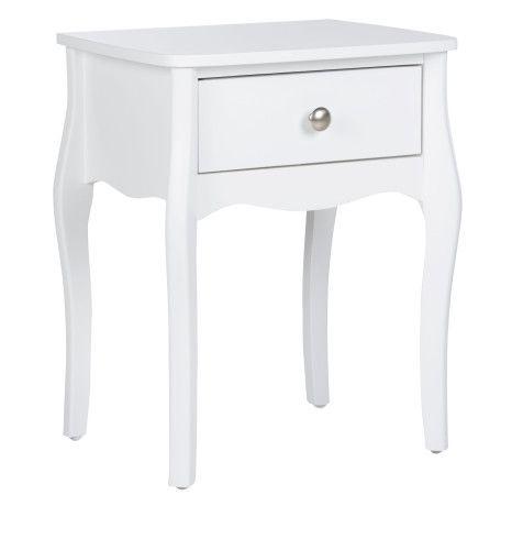 Table de Chevet blanche Barok - BUT