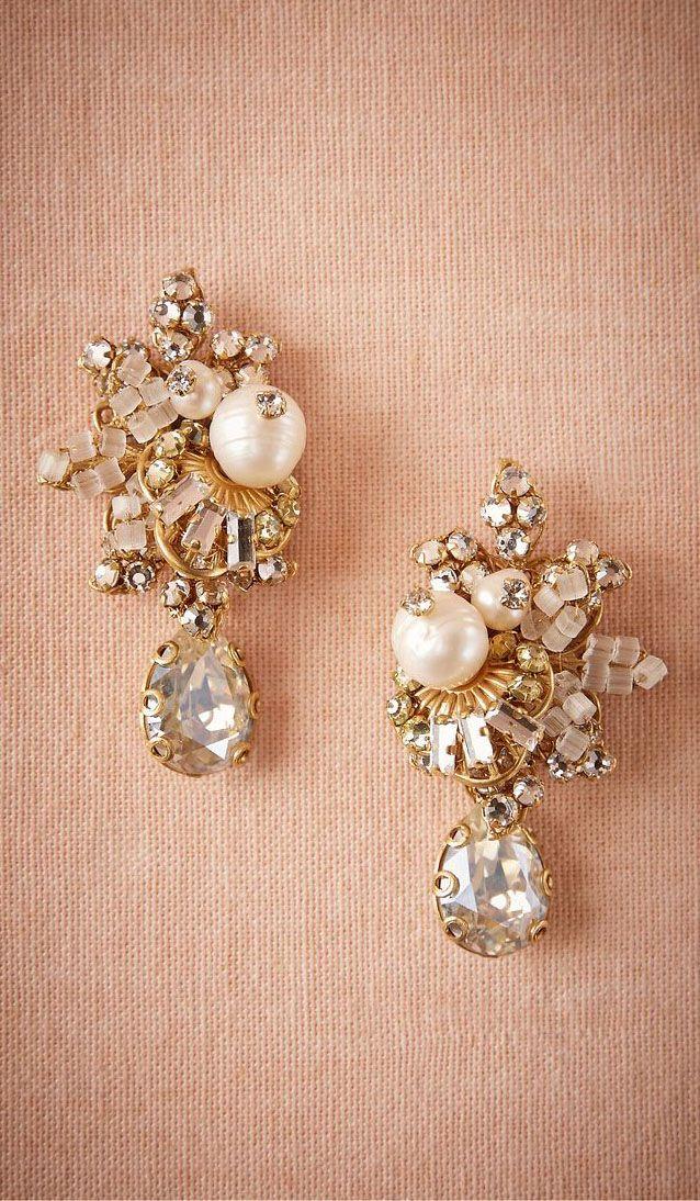 Faina Cluster Earrings