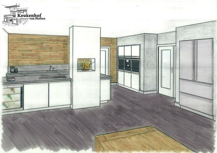 Ontwerpen Keuken: Kleine modulaire keuken ontwerpen voor verbouwen ...