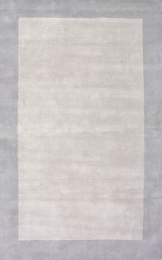 Best Elegancesolid Border Rug Rugs Usa Grey And Blue 640 x 480