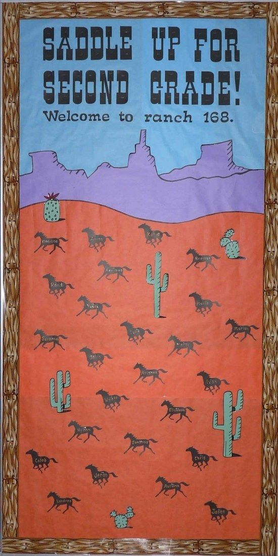 Second-Grade Rodeo | Community Post: 31 Incredible Bulletin Boards For Back To School