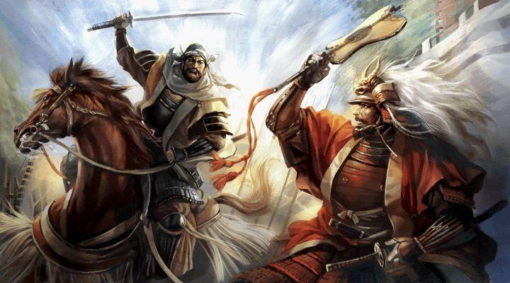 The duel between Uesugi Kenshin and Takeda Shingen