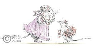 Helen Craig. Angelina Ballerina. Limited Edition Prints .Art Prints. Illustration.