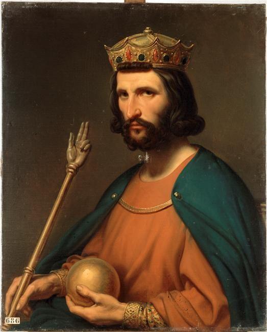 Hugues Capet, roi de France   Charles de Steuben