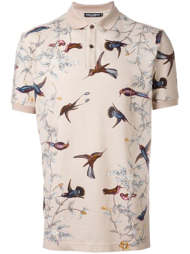 Dolce & Gabbana Camisa Polo Estampada - Pompeu Baqueira - Farfetch.com