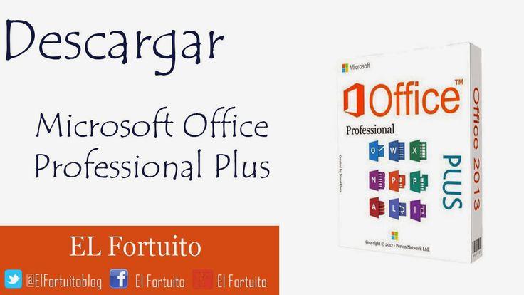 El fortuito: Como Descargar e instalar Microsoft Office 2013 para Windows 8, 8.1, 7