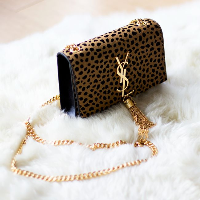 One day. One day....Cheetah YSL Bag