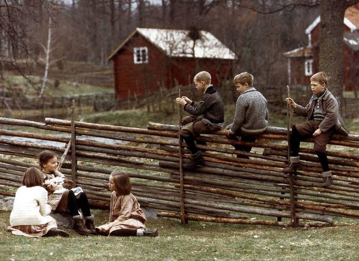 Alla vi barn i bullerbyn - De kinderen van Bolderburen - Astrid Lindgren