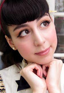 Classic Lolita Cat-Eye makeup tutorial