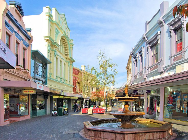 The Quadrant Mall - Launceston - my home town!!