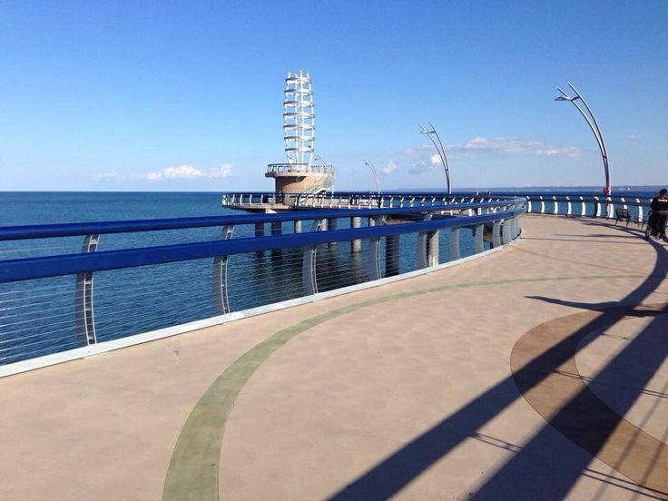 Mid day walks on the #BurlOn pier..soo nice!