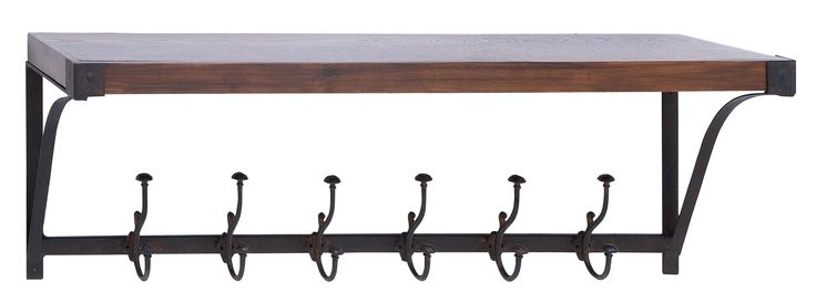 Wall Shelf Hook With Single Top Storage Space