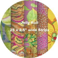 """YELLOW #1 - Jelly Roll - 25 Strips 2.5"""" x 44"""" – TUPPY'S AUSSIE FABRICS"""