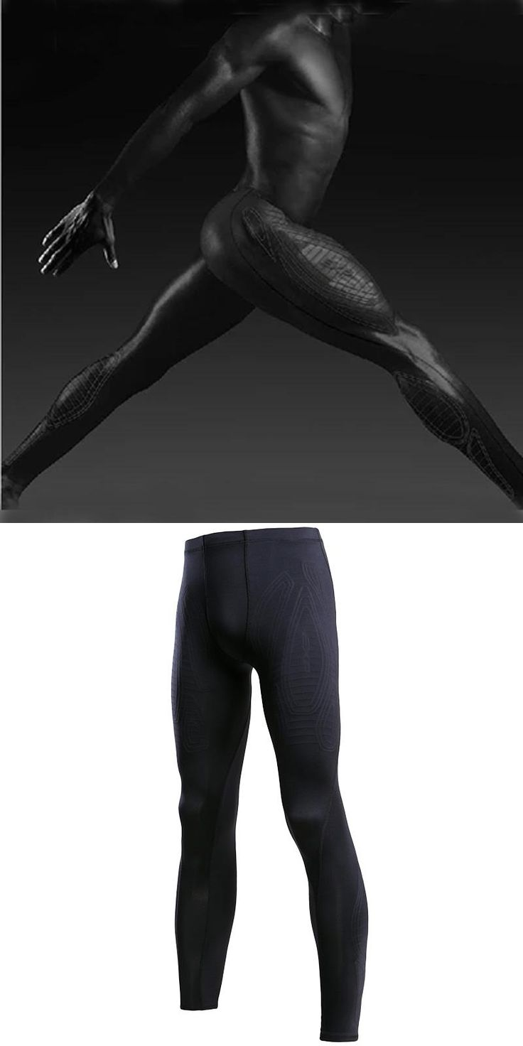 [Visit to Buy] Mens compression pants sports running tights basketball gym pants bodybuilding jogger jogging fitness skinny leggings trousers #Advertisement