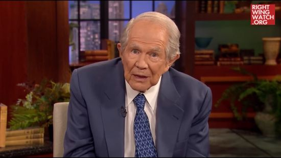 "Pat Robertson: ""Christians Need To Be Praying"" to Protect Donald Trump From Witches"