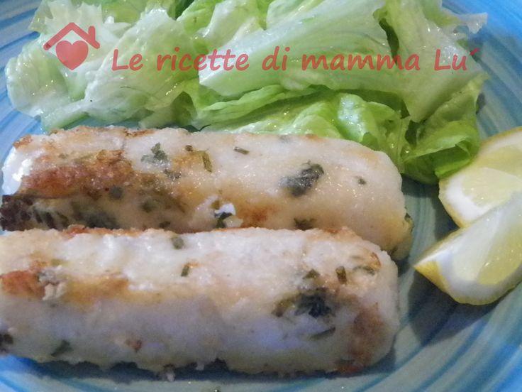 Cuori di filetto di merluzzo al limone