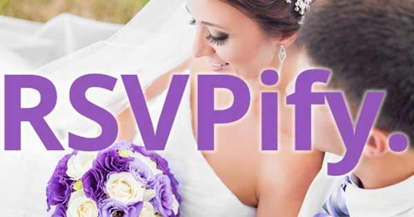 RSVPify is the new way for your wedding guests to RSVP. Easily create beautiful online RSVPs for your reception, rehearsal dinner, and bridal shower and use RSVPify's wedding planning tools to keep you organized. http://www.rsvpify.com/