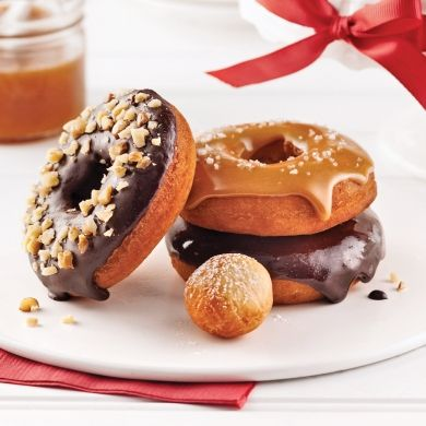 Beignes glacés - Recettes - Cuisine et nutrition - Pratico Pratiques - Noël - Dessert