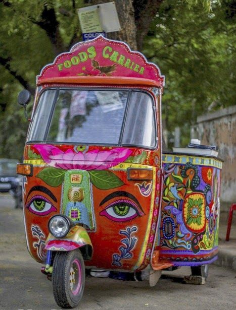 """South 2 Mouth......A South Indian """"Foods Carrier"""".......A Food Rickshaw!!! 