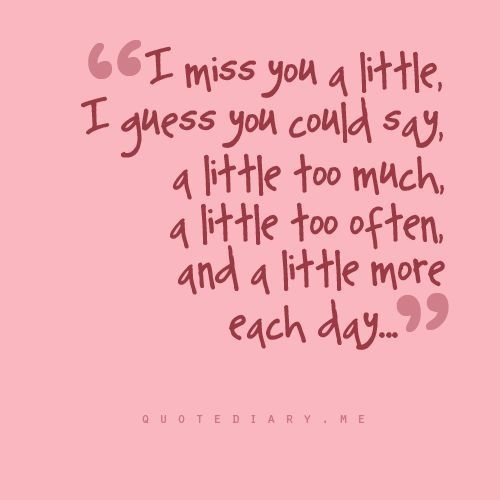 I Love You More Than Quotes: 1000+ Miss U Quotes On Pinterest