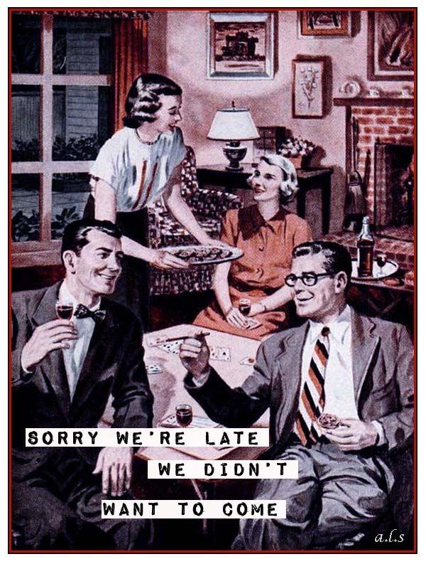 retro funny....things my family says.