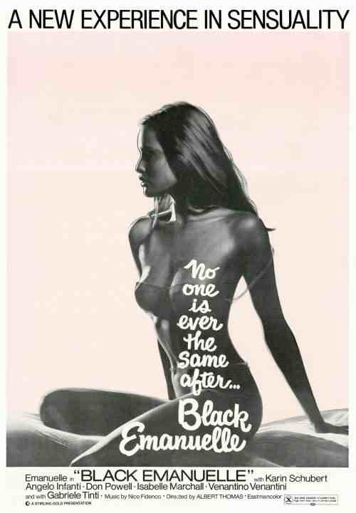 """Black Emanuelle"" aka ""Emanuelle Nera"" (1975) Director: Bitto Albertini (as Albert Thomas) Stars: Laura Gemser, Karin Schubert, Angelo Infanti"