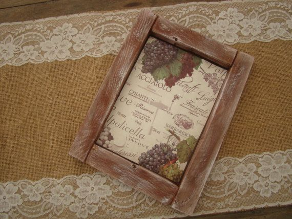 handmade wood frame by demetradaskoupo on Etsy