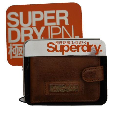 Superdry Tab Wallet in A Tin – Moyheeland Traders