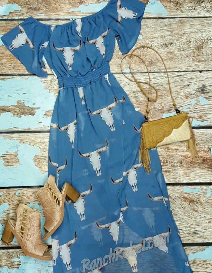 The Longhorn Dress #1704
