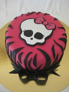 Gateau Monster High 2