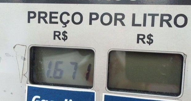 Litro de gasolina a R$ 1,67 provoca fila em posto de combustíveis em São Paulo